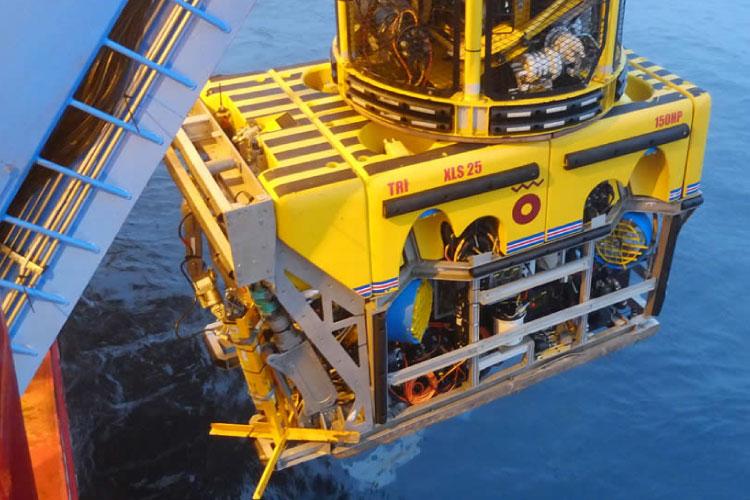 MTCS ROV Launch - High Pressure Hydraulics Training